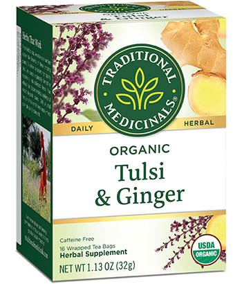image of Tulsi with Ginger