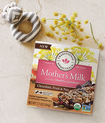 image of Mother's Milk® Chocolate, Fruit & Nut Bars