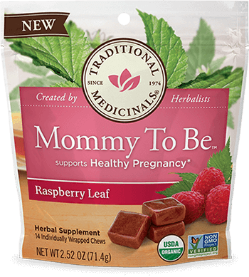 image of Mommy To Be Raspberry Leaf Chews
