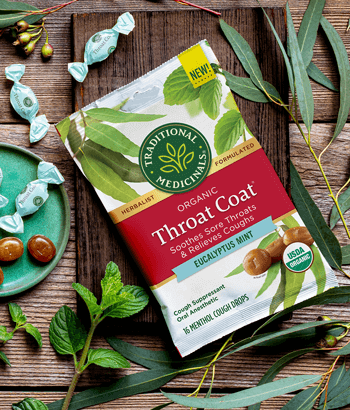 image of Throat Coat® Eucalyptus Mint Lozenges