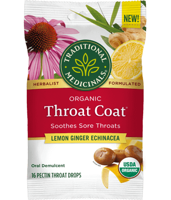 image of Throat Coat® Lemon Echinacea Lozenges