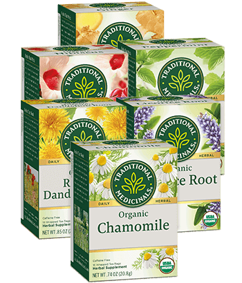 image of Herbal Teas Variety 6-Pack