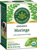 image of Moringa with Spearmint & Sage