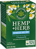 image of Hemp+Herb Stress Relief Chamomile